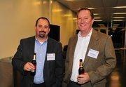 Steve Robinson, left, and Greg Brokmeyer, of No. 27 Techstone Technology Partners LLC.