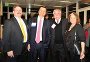 From left: James Taylor, CEO of No. 12 CHR Solutions Inc., Phil Morabito, CEO of Pierpont Communications, Ivo Nelson, chairman of No. 5 Encore Health Resources and Dana Sellers, CEO of Encore Health Resources.