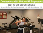 GB Biosciences' employees can earn points by calculating their body mass index.