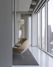 Ninety-four percent of PDR's regularly occupied spaces are exposed to daylight, and more than 92 percent of the regularly occupied seats have a direct view to the outside.