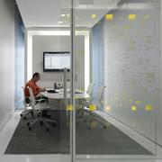 Ninety-nine percent of PDR's workspaces have individually controlled task lights on a sensor, and 100 percent of shared workspaces are provided with multilevel and dimming lighting controls.