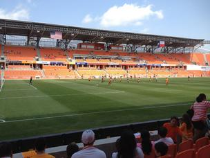 BBVA Compass Stadium opened in May as the home of the Houston Dynamo soccer team.