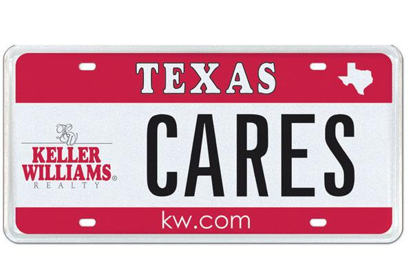 Keller Williams Realty is the latest company to offer a corporate license plate through My Plates. Click through for a slideshow of all the for-profit companies and brands that offer corporate license plates.