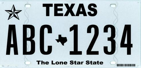 Texas DMV unveils 'classic' license plate - Houston Business