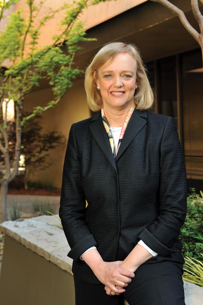 HP boss Meg Whitman.