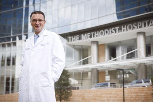 Dr. Mauro Ferrari, president and CEO of The Methodist Hospital Research Institute: 'I feel like I'm on a mission. I am awake by 2 or 3 a.m. every morning thinking about new innovations.'