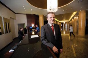 Raymond Vermolen of Intercontinental Hotel: 'We've seen a good spike this year which is great for business.'