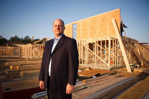 Eric Lipar is lining up multiple capital sources and buying  land and home lots to fuel strategic plans at LGI Homes, which he owns with his father, Tom Lipar.
