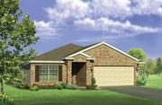 Rendering of LGI Homes' most popular floor plan — Blanco II 1330 — which will be built in both the Sterling Lakes and Mallard Crossing communities.