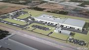 The proposed Ben E. Keith facility in Missouri City, shown above in a rendering, includes a 300,000-square-foot distribution center, a 50,000-square-foot office building and a truck maintenance building. The company expects to have 210 employees at the facility by January 2013.