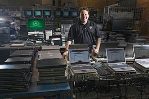 Clive Hess, president of CompuCycle: ' Nobody really knew what certified recycling was a few years ago, so we put a lot of effort into educating companies about it.'