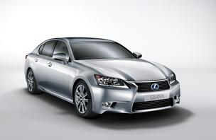 The Lexus GS450h hybrid.