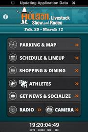 The GPS-enabled app has points of interest, a shopping and dining guide and cowboy scores and bios.