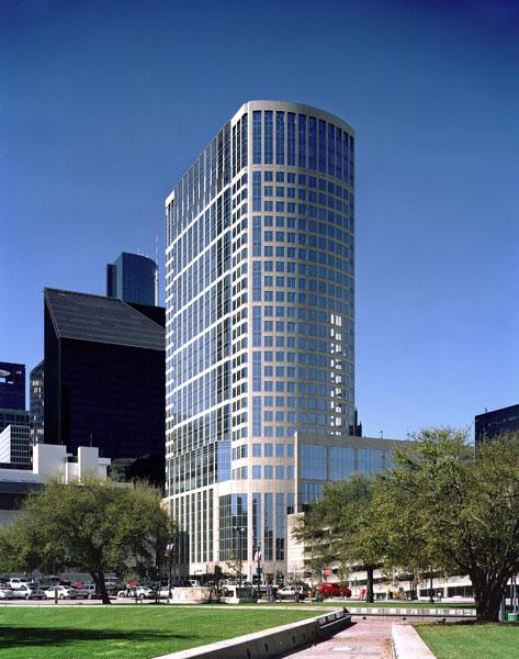 The cost of upgrades and fees to reapply for LEED certification at 717 Texas was $100,000.