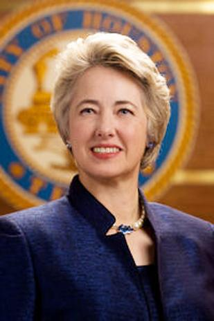 Mayor Annise Parker was re-elected for a third and final term.