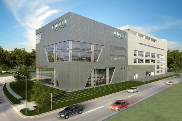 Largest Audi Dealership Under Way In Houston Houston Business Journal - Houston audi