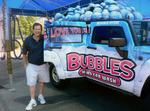 Bubbles' Bill Lawrence can't stand the rain