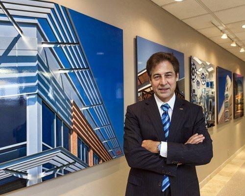 Dan Boggio, president and CEO of PBK Architects Inc.