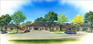 A rendering of the proposed Cantex skilled nursing facility in The Woodlands.