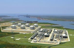 Cheniere Energy has secured $5.4 billion in funding to build the country's first LNG export facility in Louisiana.