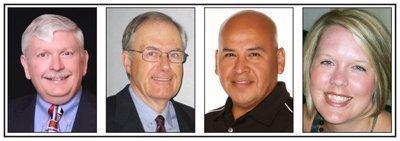 Bob Miles, Mark Roussy, Javier Tello and Michelle Velasquez