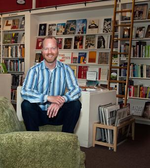 Jeremy Ellis, manager of Brazos Bookstore: 'This industry changes so much that it can give you whiplash, so it's important to be aware of things that are in flux.'