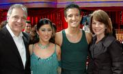 """From left: Buck Ballas, Kristi Yamaguchi, Mark Ballas and Sharon Ballas. Mark is Sharon and Buck's nephew and a professional dancer on ABC's hit reality show """"Dancing With The Stars."""""""