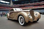 This 1937 Delange D8-120 Letourner et Marchand Aerosport took top prize at last year's Houston show.
