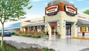 A rendering of the new flagship Demeris Bar-B-Q eatery that will open June 18.