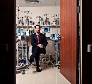 Donald Sapaugh, president of University General Health System