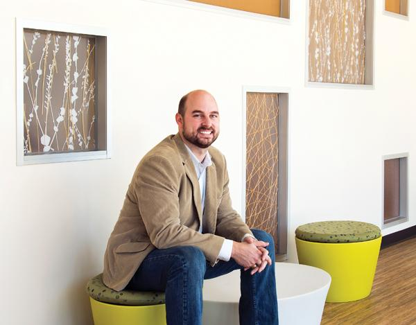 Jake Donaldson, principal at Three Square Design Group.