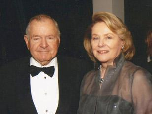 Charles and Anne Duncan, winners of the Association of Fundraising Professionals Greater Houston Chapter's 2011 Maurice Hirsch Award for Philanthropy