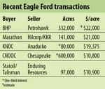 Dizzying array of M&A activity pumps the Eagle Ford shale