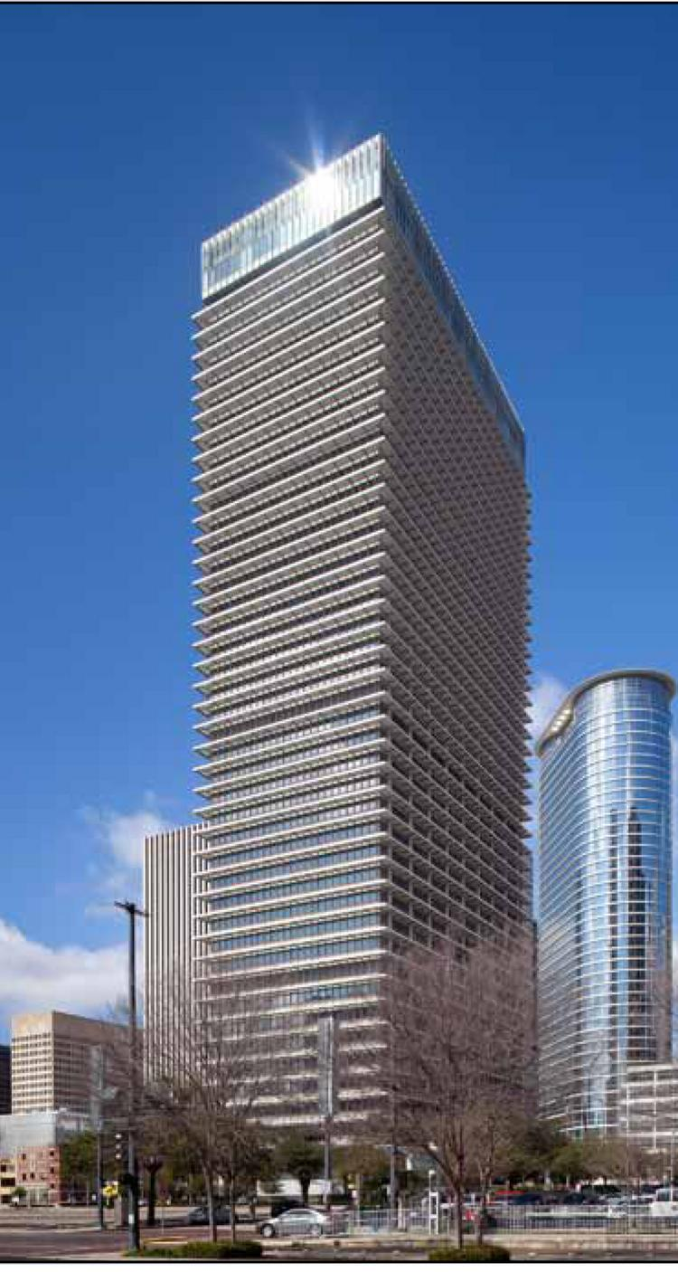 Shorenstein Properties recently bought the 45-story Exxon Mobil building and parking garage.