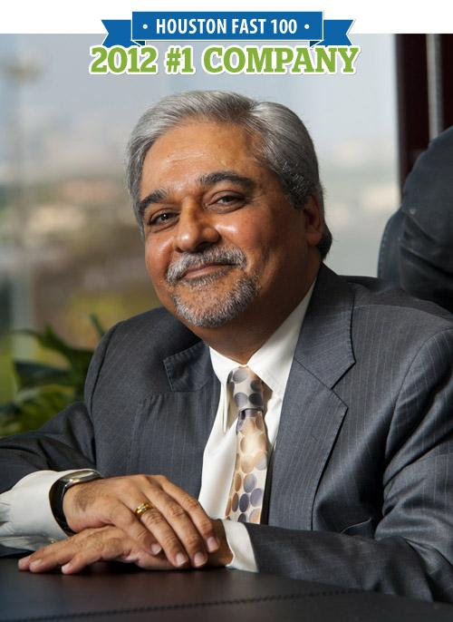 Anis Charania is CEO of Potentia Energy LLC, which was the No. 1 firm on HBJ's 2012 Fast 100 list with 19,918 percent growth from 2009 to 2011.