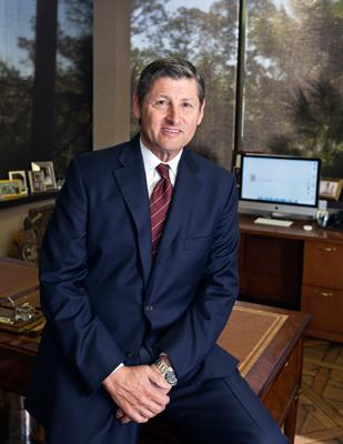 Jim Frankel, president of Frankel Building Group: 'There has been a major transfer of wealth over the last 10 years. The younger generation is inheriting wealth and putting it to work.'