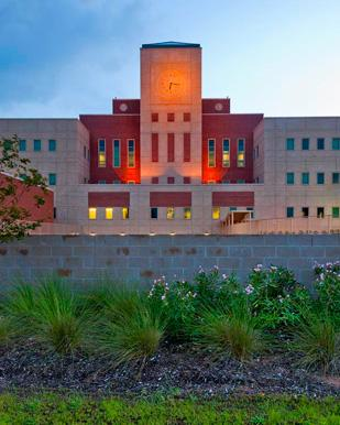The Fort Bend County Justice Center in Rosenberg was completed in May.