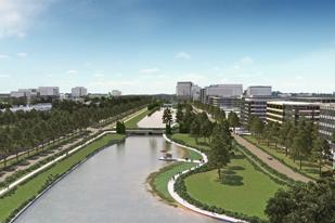 The sprawling Generation Park project near George Bush Intercontinental  Airport, shown in this rendering, has 207 development sites.
