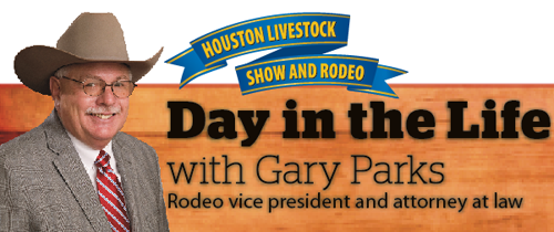 Click the images to see how Gary Parks balances his volunteer position with the one that pays the bills. HBJ's Rodeo Houston special section is available to print and digital subscribers. Click here to subscribe.