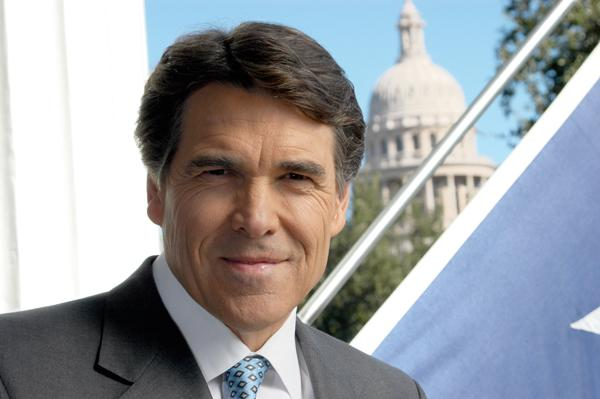 Gov. Rick Perry said voters should decide any changes to the Railroad Commission.