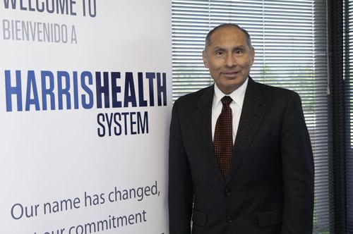 David Lopez, president and CEO of Harris Health System