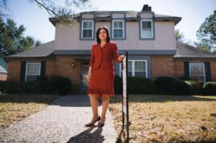 Monica Vaca, owner of The Houston Real Estate Group, says there are tremendous cultural differences when dealing with Hispanic buyers: 'You have to know their style of life.'