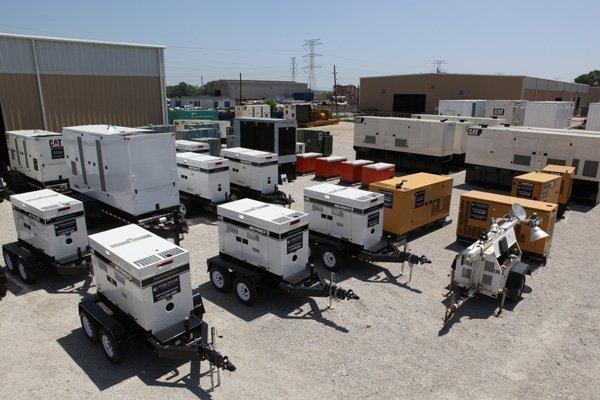 Backup generators start at $330 per week for a 30-kilowatt unit and go up to $7,000 per week for a 2-megawatt unit.
