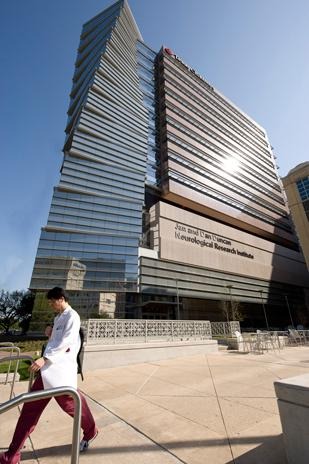 The Jan and Dan Dan Duncan Neurological Research Institute at Texas Children's Hospital was designed to resemble a DNA strand.
