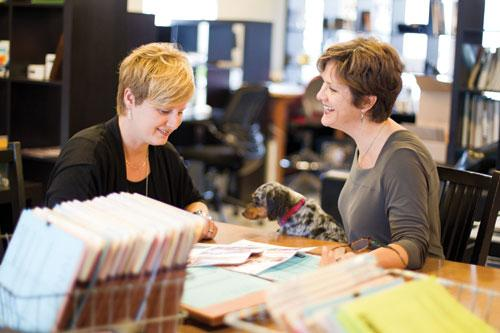 Alisa Weldon (above left) and Lynn Yeldell, co-founders of L Style G Style.