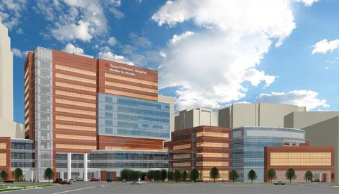 Texas Children's Hospital Pavilion for Women, at 6651 Main St., will open for inpatient care in Spring 2012.