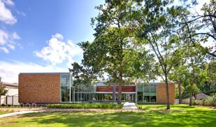 Oak Forest Neighborhood Library was selected as the winner of the 2012 Landmark Award in the Community Impact category.