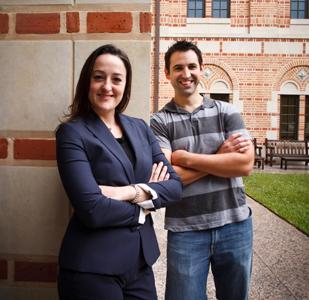Rebellion Photonics' co-founders Allison Sawyer and Robert Kester both attended Rice University in Houston.