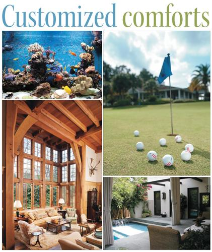Click through for a slideshow of the hot features Houstonians are requesting for their homes.