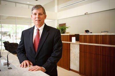 Rich Jochetz, president of Texas Gulf Bank